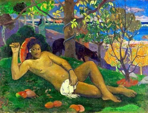 portraetgemaelde - Te arii Vahine - Gauguin, Paul