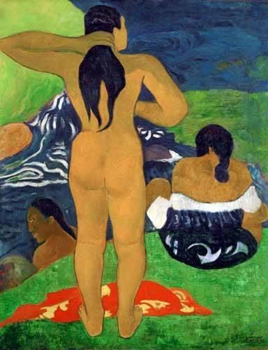 portraetgemaelde - Tahitian women on the beach,1892 - Gauguin, Paul