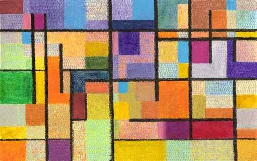 abstrakte-gemaelde - Abstrakt M_K_1 - Molsan, E.