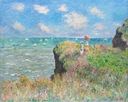 landschaften-gemaelde - Etretat - Monet, Claude