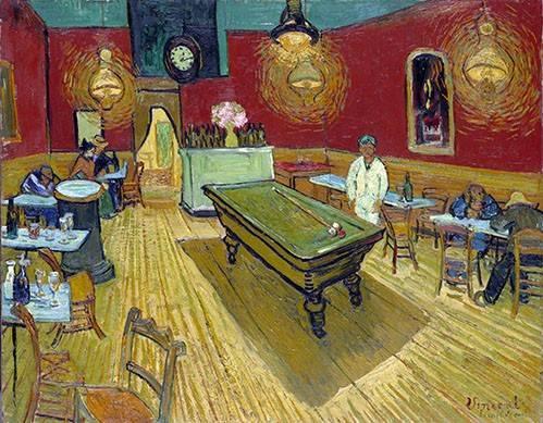 portraetgemaelde - Le café de nuit à Arles, 1888 - Van Gogh, Vincent
