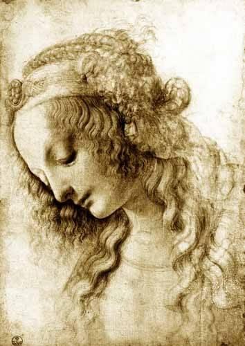 religioese-gemaelde - Maria Magdalena - Vinci, Leonardo da