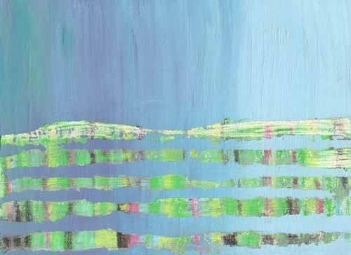 abstrakte-gemaelde - Abstrait -Courant Marin (I). - Vicente, E. Ricardo