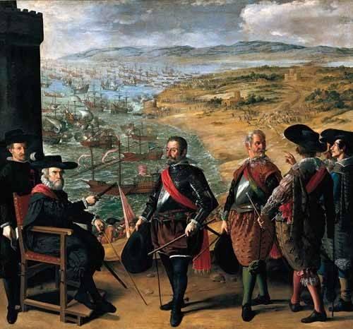 portraetgemaelde - Defensa de Cadiz contra los ingleses - Zurbaran, Francisco de