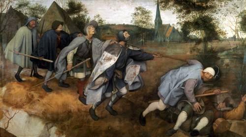 portraetgemaelde - La parabola de los ciegos - Bruegel