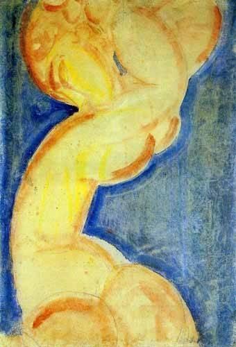 bilder-fuer-ein-esszimmer - Cariátide-4 - Modigliani, Amedeo