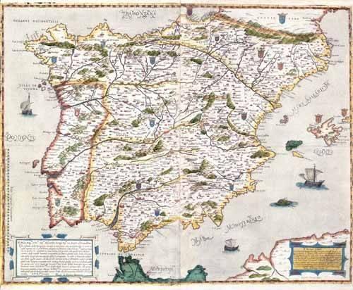 alte-karten-und-zeichnungen - España antiguo-1 - Anciennes cartes