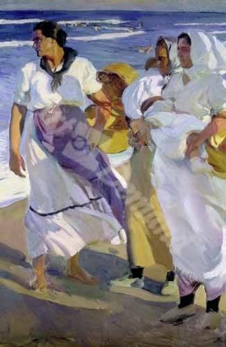 portraetgemaelde - Pêcheurs valenciens, 1915 - Sorolla, Joaquin