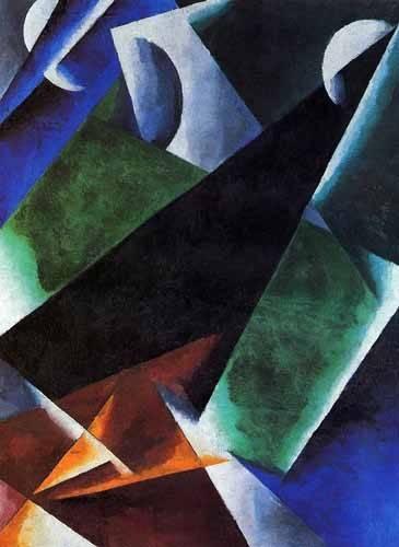 abstrakte-gemaelde - Arquitect - Popova, Lyubov Sergevna