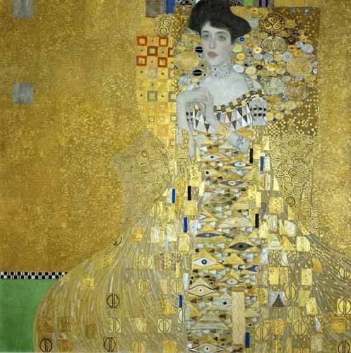 portraetgemaelde - Adele Bloch-Bauer I - Klimt, Gustav