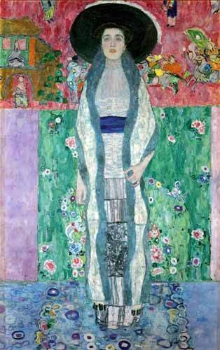 portraetgemaelde - Mrs Adèle Bloch-Bauer II - Klimt, Gustav