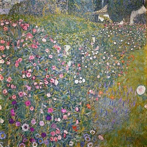 landschaften-gemaelde - Italienische Gartenlandschaft, 1913 - Klimt, Gustav