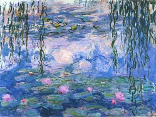 landschaften-gemaelde - Wasserlilien (Waterlilies), 1916-19 - Monet, Claude