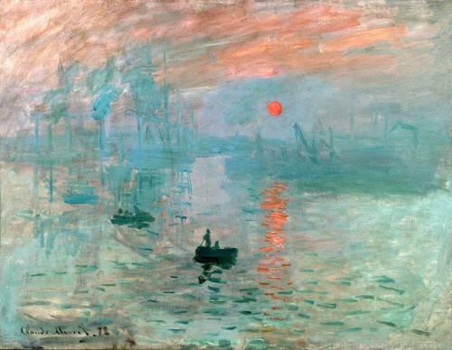 seelandschaft - Impression, Sonnenaufgang, 1872 - Monet, Claude
