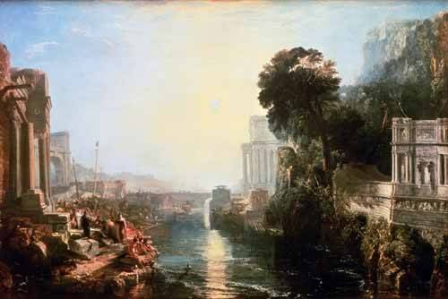 landschaften-gemaelde - The Rise Of The Carthaginian Empire, 1815 - Turner, Joseph M. William