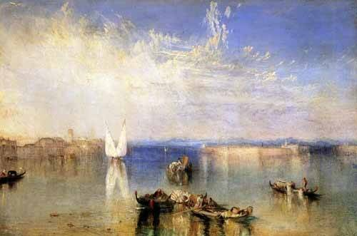 seelandschaft - Campo Santo, Venecia - Turner, Joseph M. William