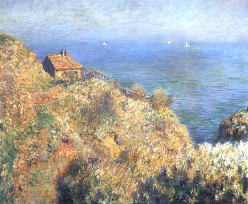 seelandschaft - Les falaises de Varengeville (II). - Monet, Claude
