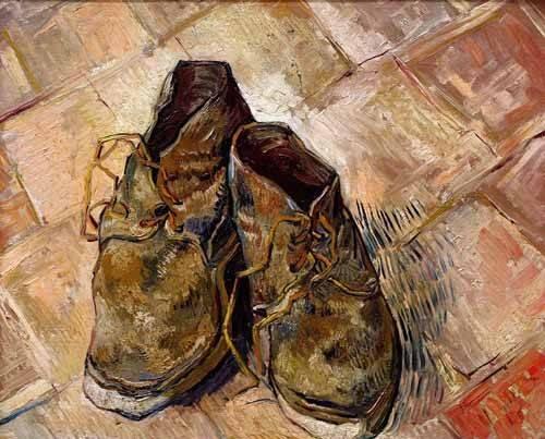 bilder-fuer-ein-esszimmer - Schuhe - Van Gogh, Vincent