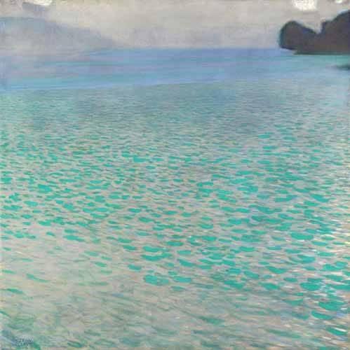 landschaften-gemaelde - Attersee, 1901 - Klimt, Gustav