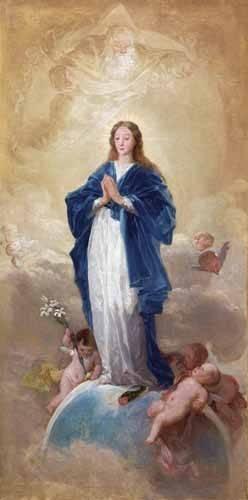religioese-gemaelde - La Inmaculada Concepción, 1784 - Goya y Lucientes, Francisco de