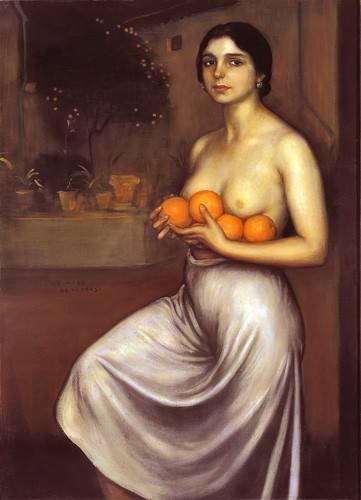 portraetgemaelde - Naranjas y Limones - Romero de Torres, Julio