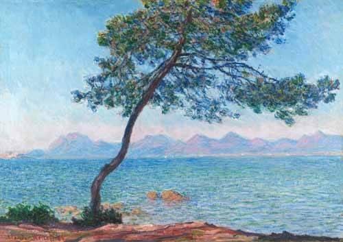 seelandschaft - Le montagne de l'Esterel, 1888 - Monet, Claude