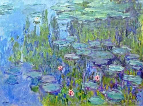 blumen-und-pflanzen - Nymphéas, 1914 - Monet, Claude