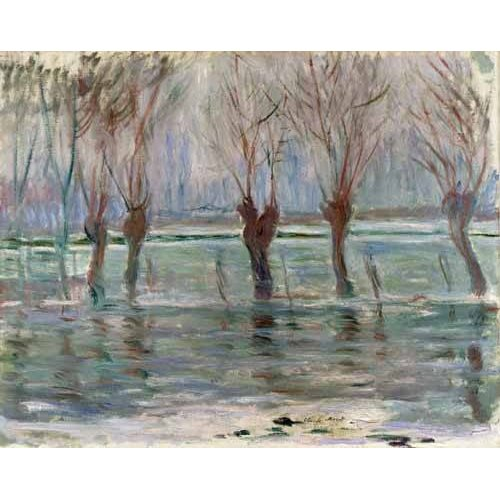 Inondation à Giverny, 1896