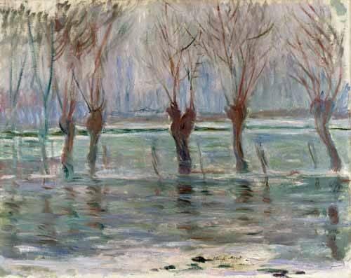landschaften-gemaelde - Inondation à Giverny, 1896 - Monet, Claude