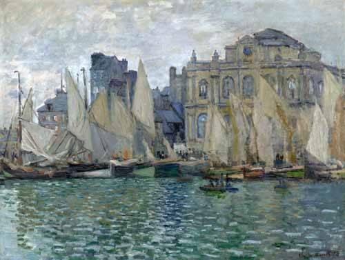 seelandschaft - Le Musée à Le Havre - Monet, Claude