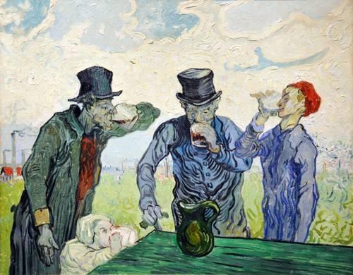 portraetgemaelde - Die Trinker, 1890 - Van Gogh, Vincent