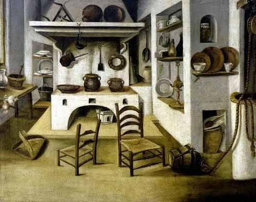 bilder-fuer-ein-esszimmer - La cocina - Puga, Antonio