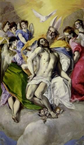 religioese-gemaelde - Trinidad - Greco, El (D. Theotocopoulos)