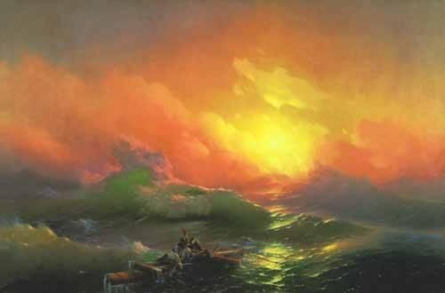 seelandschaft - Die neunte Welle - Aivazovsky, Ivan Konstantinovich