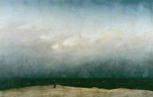 seelandschaft - Der Mönch am Meer, 1810 - Friedrich, Caspar David