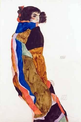 portraetgemaelde - Moa, 1911 - Schiele, Egon