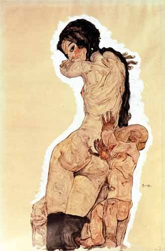portraetgemaelde - Mother and Child, 1910 - Schiele, Egon
