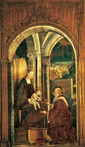 religioese-gemaelde - La Adoración De Los Magos - Berruguete, Pedro