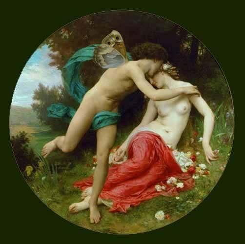 portraetgemaelde - Flora and Zephir - Bouguereau, William