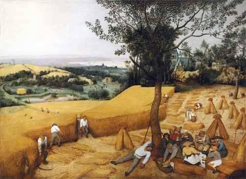 landschaften-gemaelde - The Harvesters - Bruegel
