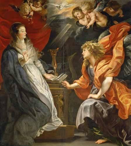 religioese-gemaelde - L'annonciation, 1609 - Rubens, Peter Paulus