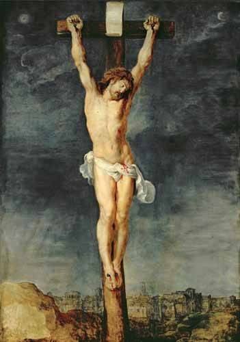 religioese-gemaelde - Cristo en la cruz - Rubens, Peter Paulus