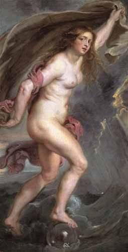 portraetgemaelde - La Fortuna - Rubens, Peter Paulus