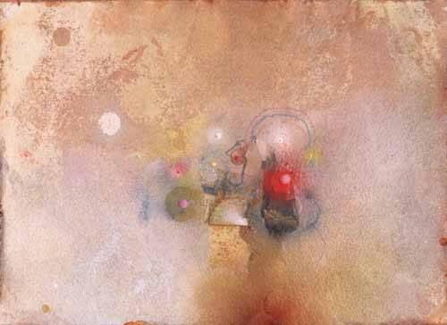 abstrakte-gemaelde - Universo-VII - Tapissan, James