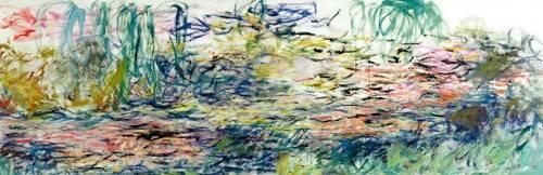 landschaften-gemaelde - Nymphéas, 1917 - Monet, Claude