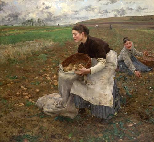 portraetgemaelde - October, 1878 - Bastien Lepage, Jules
