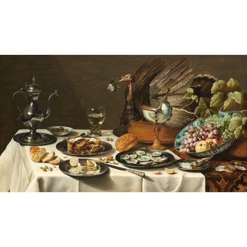 naturezas mortas - Quadro -Bodegon con pastel turco, 1627-