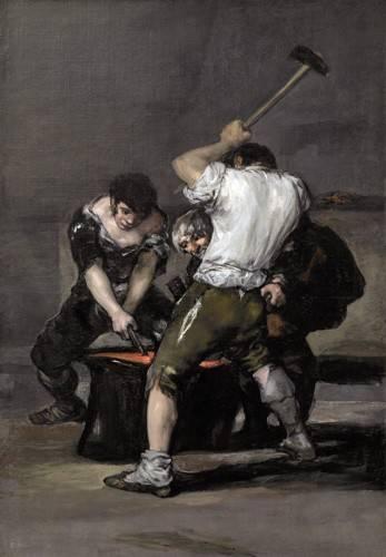 portraetgemaelde - La_fragua, 1815-1820 - Goya y Lucientes, Francisco de