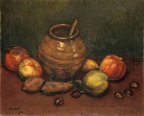stillleben-gemaelde - Still Life, 1910 - Nonell y Monturiol, Isidre