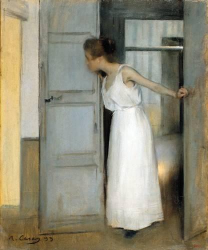 portraetgemaelde - Over My Dead Body, 1893 - Casas i Carbó, Ramón